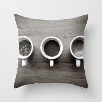 coffee V. Throw Pillow