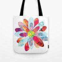 Flowers Bloom Tote Bag