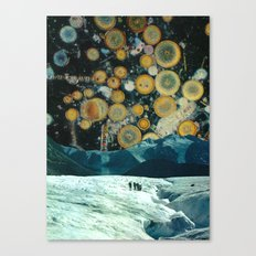 Welcome to space party Canvas Print