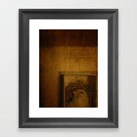birdbox Framed Art Print