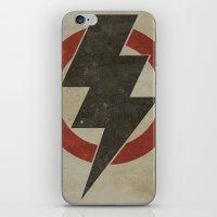 lightning strike zone iPhone & iPod Skin