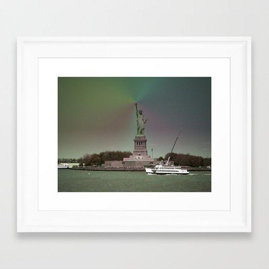 New York in 20 pics - Pic 9. Framed Art Print