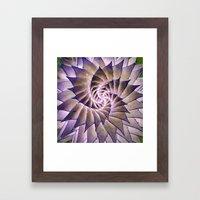 Round and Round. Framed Art Print