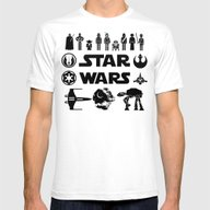 T-shirt featuring Star Characters Wars by EARTh