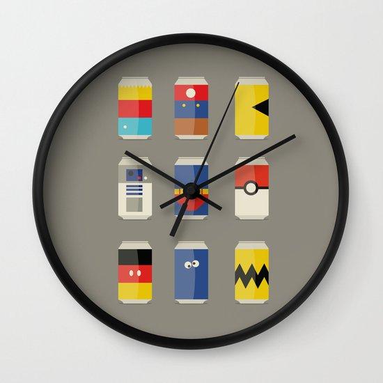 Pop Culture Wall Clock