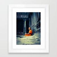 Angkor Calm Framed Art Print