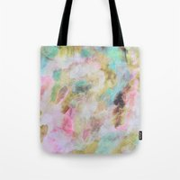 Abstract Clouds Tote Bag
