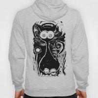 Psychedelic Cat Hoody