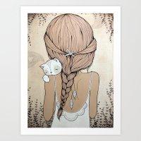 Stay Close Art Print