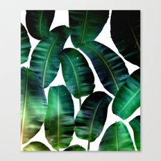 Cosmic Banana Leaves #society6 #decor #buyart Canvas Print