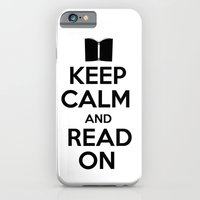 keep calm iPhone & iPod Cases featuring Keep Calm by bookwormboutique