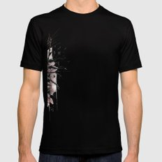 Bliss To Devastation Black Mens Fitted Tee SMALL