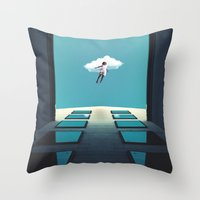 Desire To Fly Throw Pillow