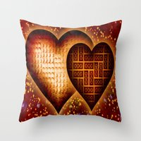 Lego Love - 162 Throw Pillow
