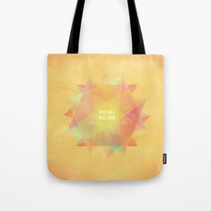 Dreams in bloom Tote Bag