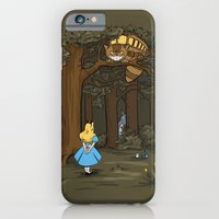 iPhone & iPod Case featuring My Neighbor in Wonderland by Mandrie