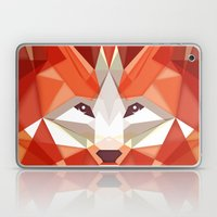 The Glaring Fox Laptop & iPad Skin