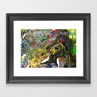 Bird's Nest - Detail A Framed Art Print