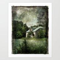 The Cloverfield House Art Print