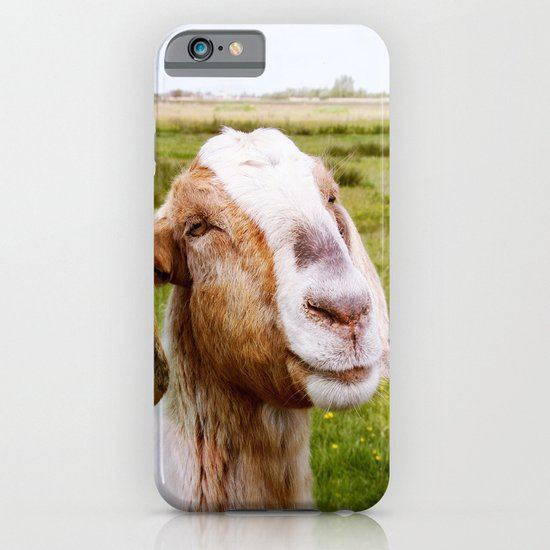 The Smiling Goat iPhone & iPod Case