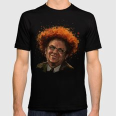 Steve Brule Mens Fitted Tee Black SMALL