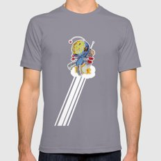 Rocket Bot Mens Fitted Tee Slate SMALL
