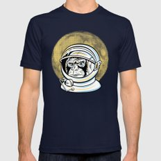 Space Ape Mens Fitted Tee Navy SMALL