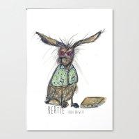 Bertie Canvas Print