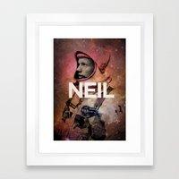 Neil. Framed Art Print