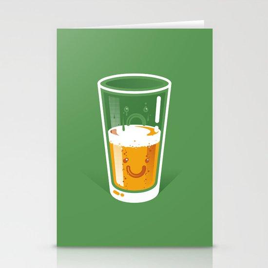 Pessimistic Optimist Stationery Card