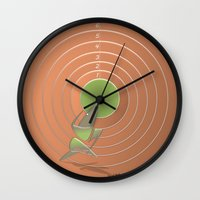 Olympic runner Wall Clock