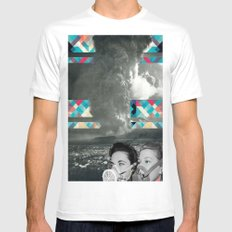 Blimey SMALL White Mens Fitted Tee