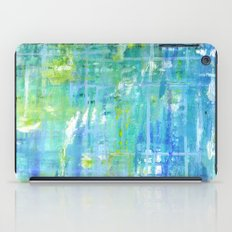 Greens and Blues iPad Case