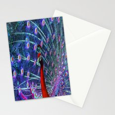 A Different Kind of Peacock Stationery Cards