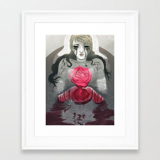 The End (Part 1) Framed Art Print