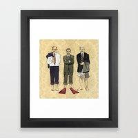 Golden Boys Framed Art Print