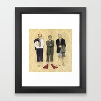 Golden Boys Framed Art Print