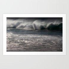 ocean energy Art Print