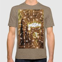 Fractured History Mens Fitted Tee Tri-Coffee SMALL