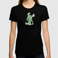 Zombie Mouse Womens Fitted Tee Black SMALL