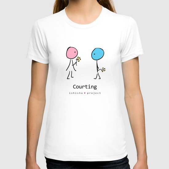 COURTING by ISHISHA PROJECT T-shirt