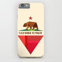 California 2 (rectangular version) iPhone 6 Slim Case
