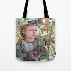 Protecting Your Imagination Tote Bag