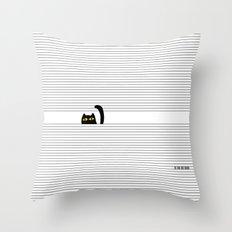 I Creep On You Throw Pillow
