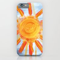 iPhone & iPod Case featuring Sunshine Painting by Shadorma