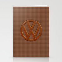 VW Bronze Grill Stationery Cards