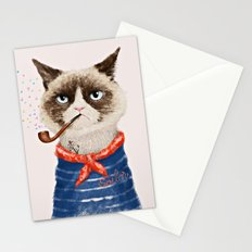 Sailor Cat V Stationery Cards