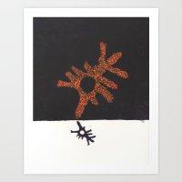 Hypnic Jerk Art Print