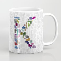 letter k - gaming blocks Mug