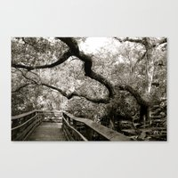 Bridge to ______ Canvas Print